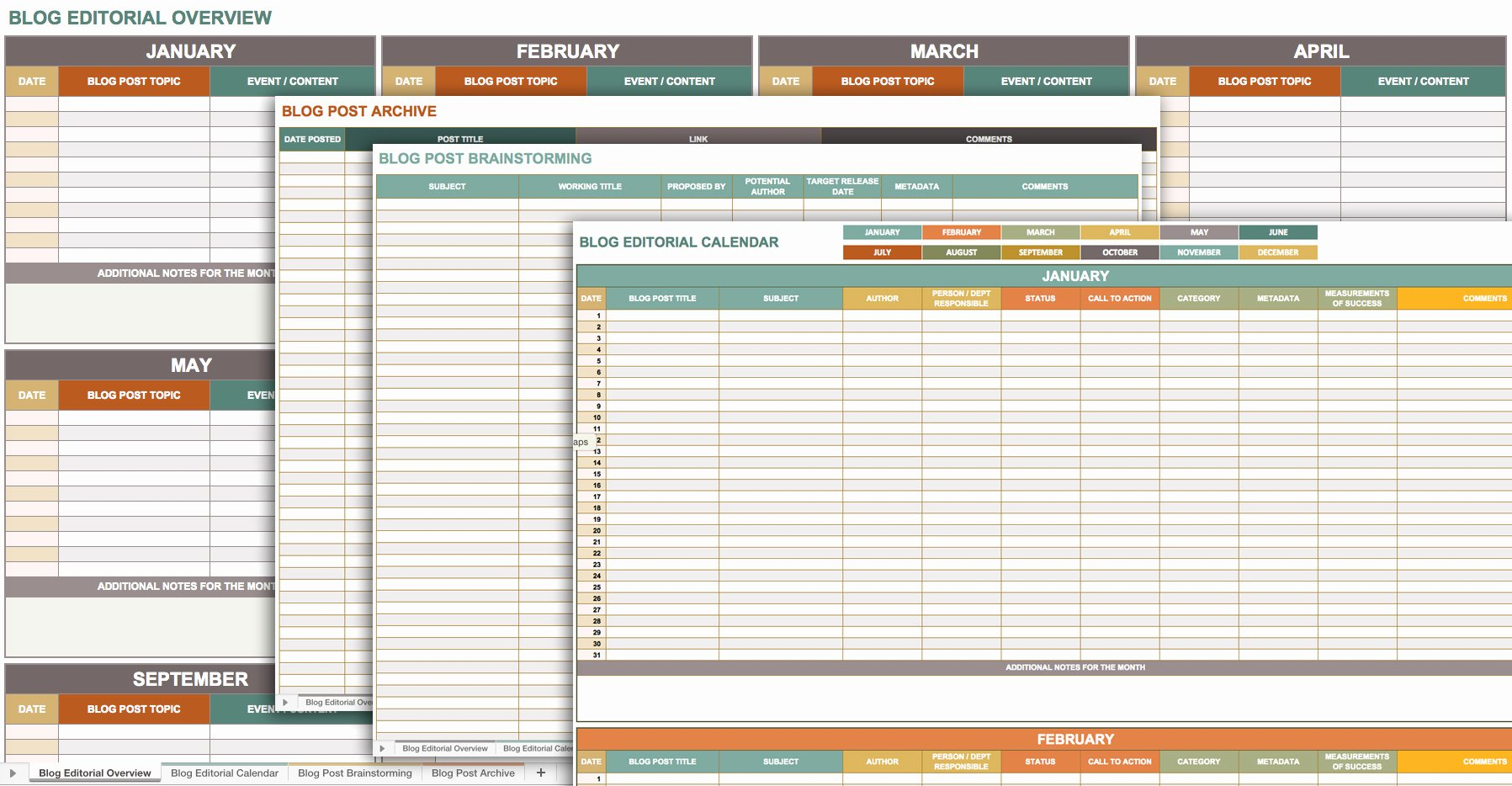 Sales Planning Template Excel Unique Free Marketing Plan Templates for Excel Smartsheet