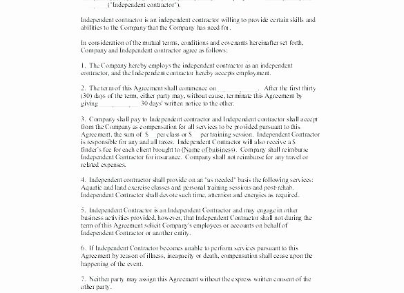 Sales Rep Agreement Template Awesome Independent Sales Consultant Agreement Template Standard