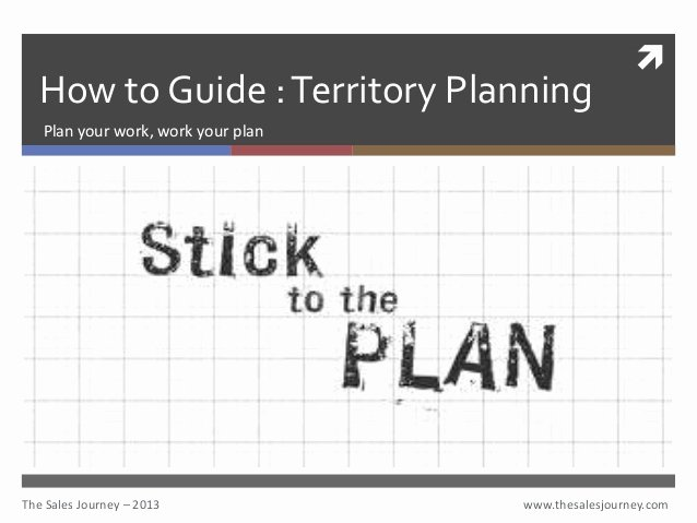 Sales Territory Plan Template Beautiful Territory Planning the Sales Journey