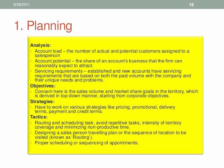 Sales Territory Plan Template New Sales Territory Business Plan We Can Do Your Homework