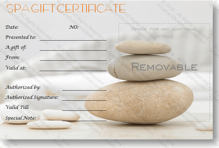 Salon Gift Certificate Template Fresh Gift Certificate Template