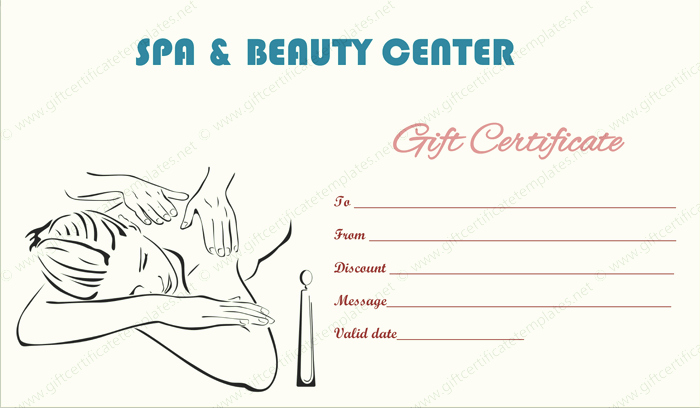 Salon Gift Certificate Template Lovely Gift Certificate Templates