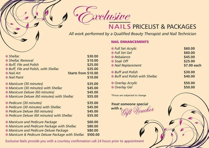 Salon Price List Template Best Of 78 Best Images About Salon Pricing On Pinterest