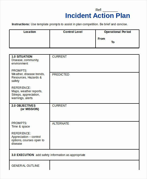 Sample Action Plan Template Fresh Action Plan Template 26 Free Pdf Word format