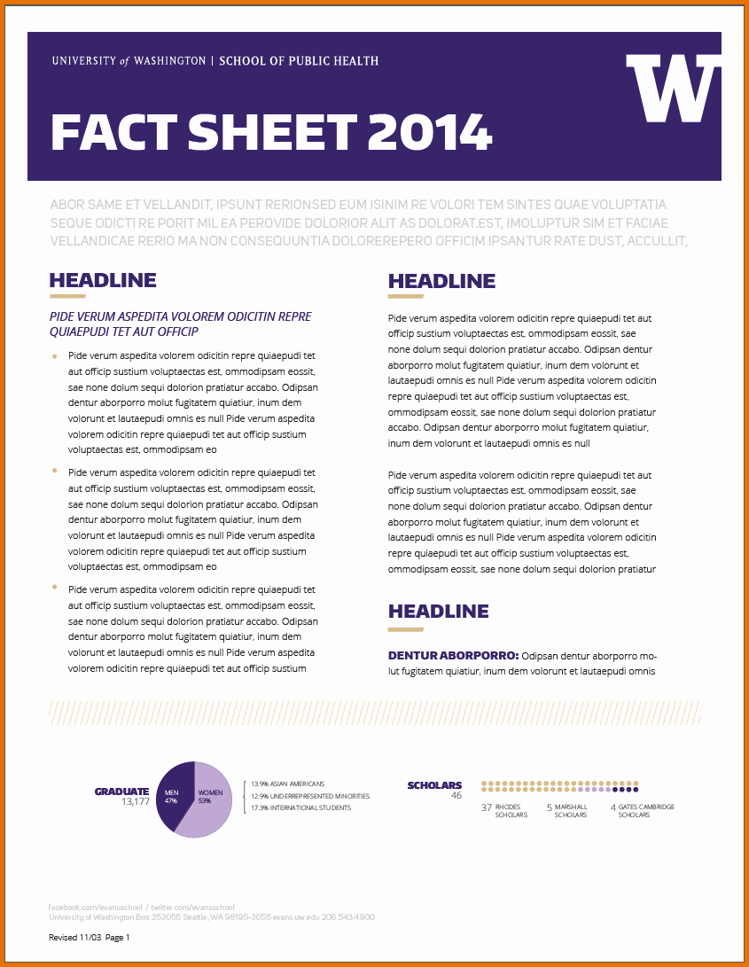 Sample Fact Sheet Template Luxury 8 Fact Sheet Template Wordreference Letters Words