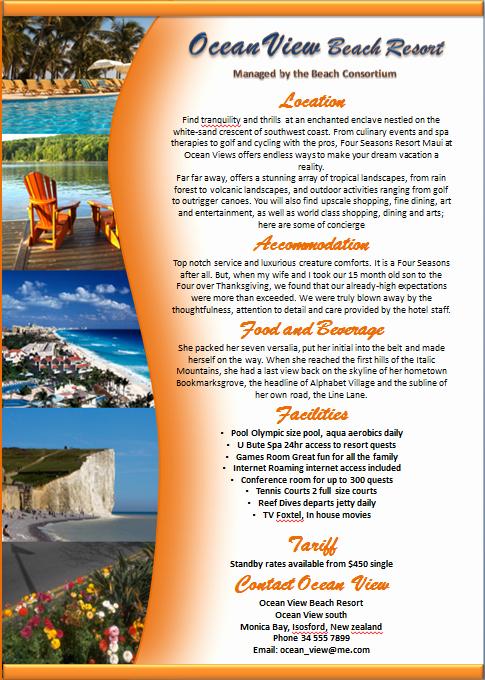 Sample Fact Sheet Template New Make A Brochure Factsheet that Rocks Microsoft Word