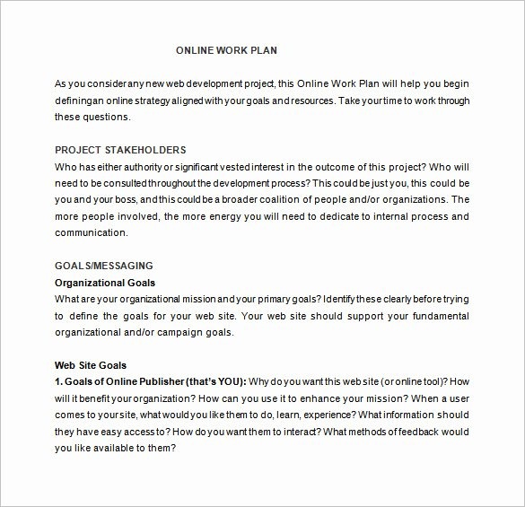 Sample Job Proposal Template Elegant Work Proposal Template 15 Free Sample Example format