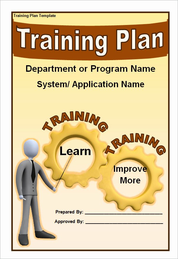Sample Training Plan Template Fresh Training Plan Template 16 Download Free Documents In