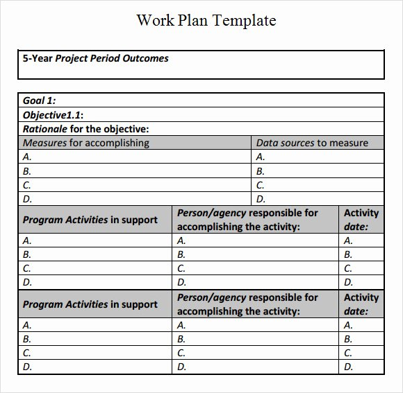 Sample Work Plan Template Inspirational Renovation Work Schedule Template