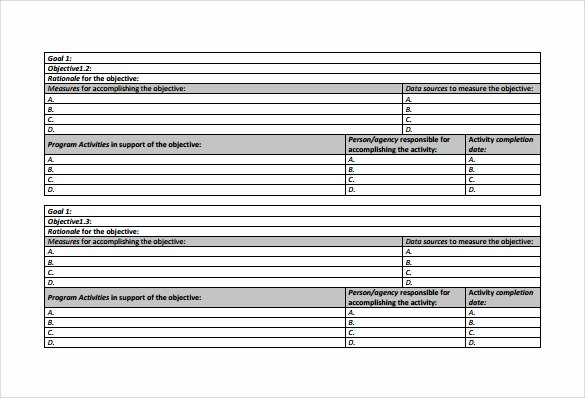 Sample Work Plan Template Luxury Work Plan Template 17 Download Free Documents for Word