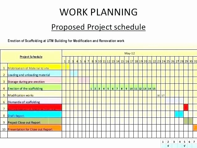 project work template work sample project work plan template excel