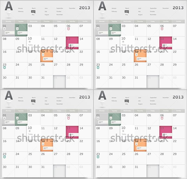 Schedule Of events Template Lovely event Calendar Templates 16 Free Download