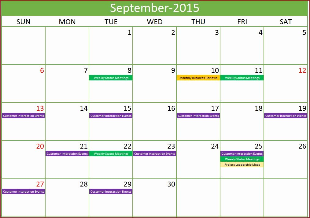 Schedule Of events Template New event Calendar Maker Excel Template Monthly with