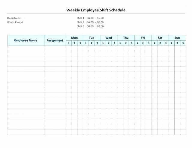 Schedule Template Google Sheets Elegant Work Schedule Template Google Sheets with Shift Schedule