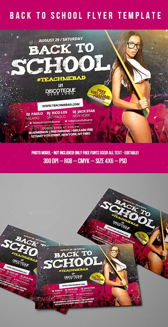 School Club Flyer Template Inspirational 1290 Best Free Flyer Templates Pinterest School