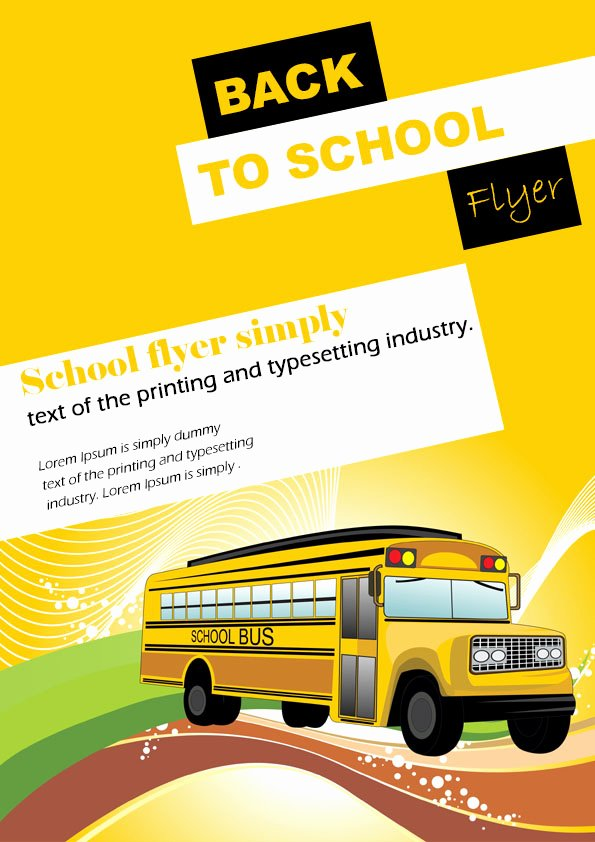 School Flyer Template Free Inspirational 16 Impressive Back to School Flyers In Psd Word & Ppt