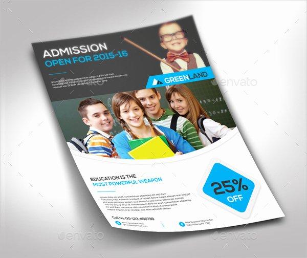 School Flyer Template Free New Educational Flyers Design Free Yourweek 4072d5eca25e
