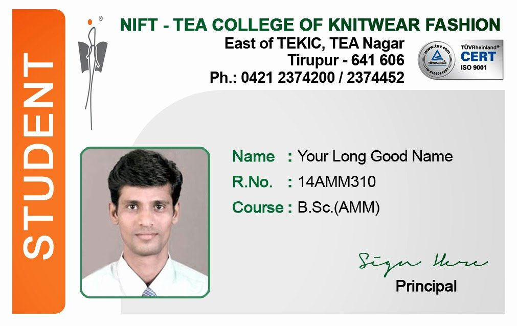School Id Card Template Best Of Id Card Coimbatore Ph Student Id Card