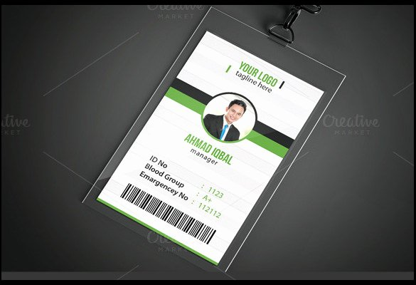 School Id Card Template Unique Id Card Template 19 Download In Psd Pdf Word