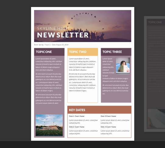 School Newsletter Template Free Unique 15 Free Microsoft Word Newsletter Templates for Teachers