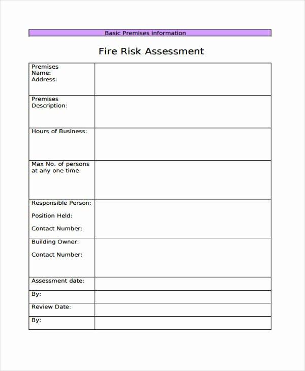 School Threat assessment Template Elegant 30 Risk assessment Samples