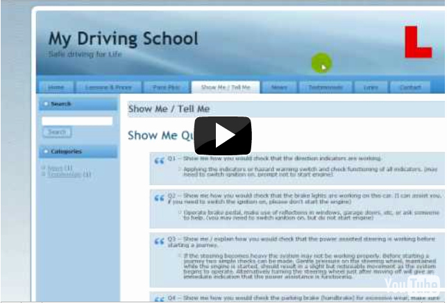 School Web Site Template Awesome Driving School Websites Specialist Design for Driving
