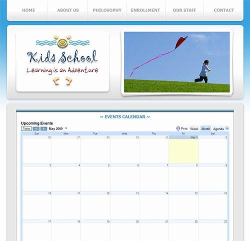 School Web Site Template Awesome Pre School Website Template 237 Pre School Education