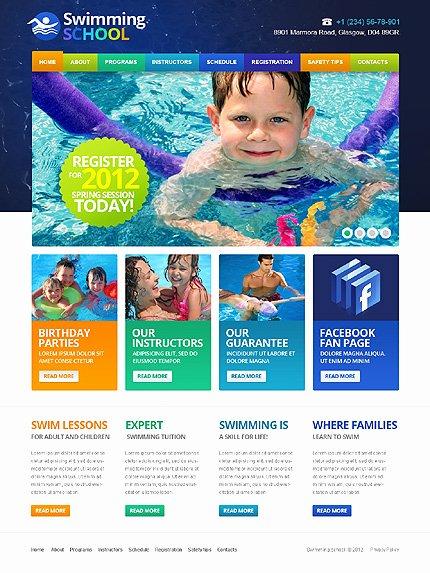 School Web Site Template Beautiful Best Education Website Templates