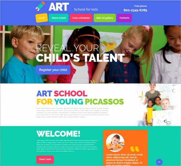 School Web Site Template Best Of 25 Best Premium School Website Templates