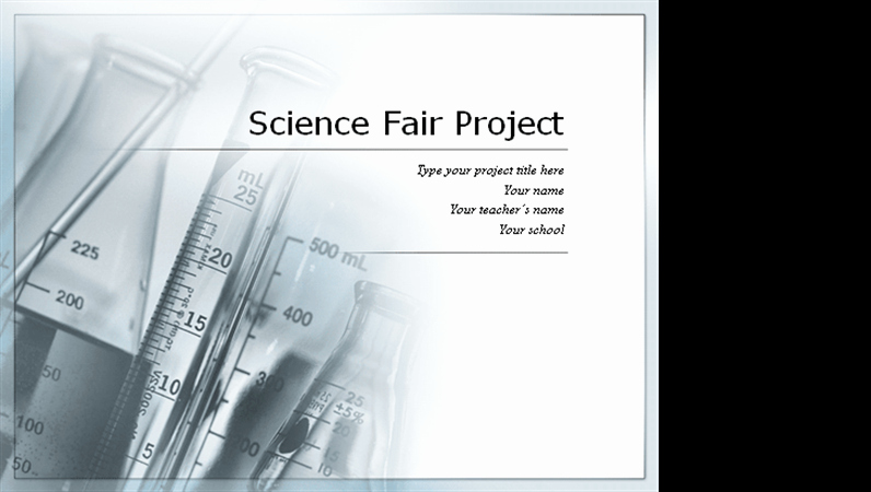 Science Fair Powerpoint Template Best Of Science Fair Project Presentation