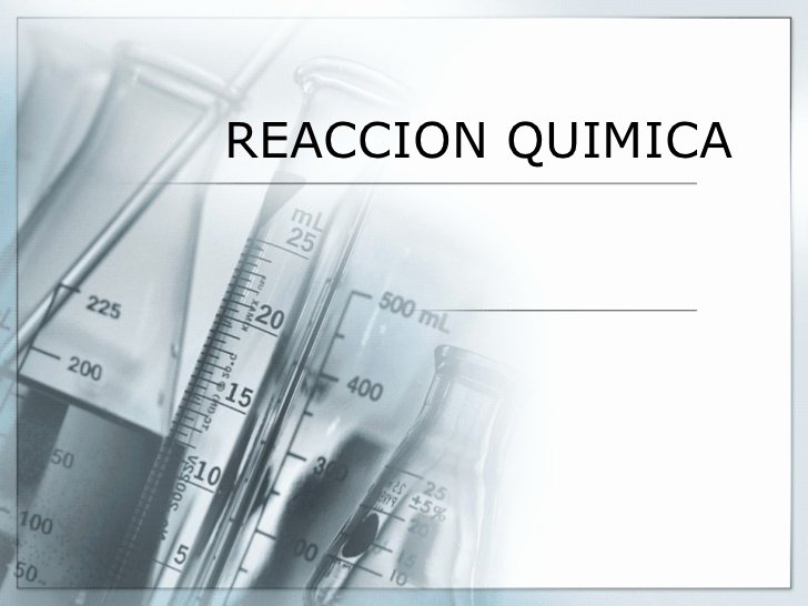 Science Fair Powerpoint Template Fresh Reaccion Quimica Mia