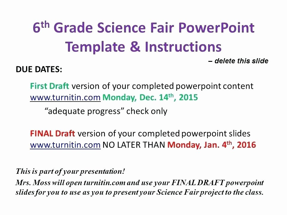 Science Fair Powerpoint Template Inspirational A Scientific Presentation Template Unique Free Science