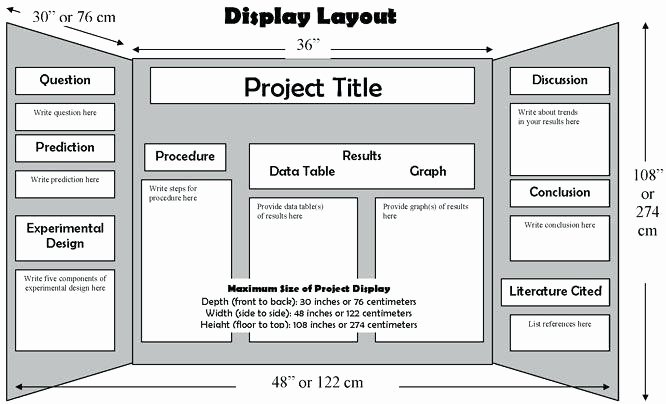 Science Fair Project Template Awesome School Project Poster Layout Beepmunk