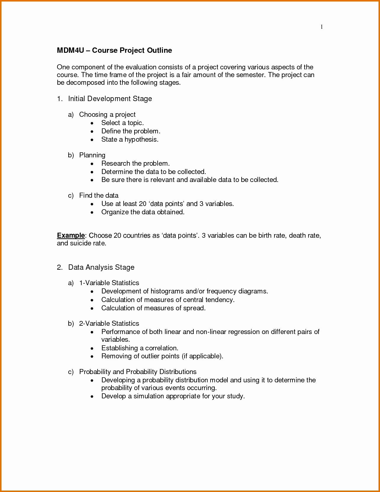 Science Fair Project Template Elegant Project Outline Templatereference Letters Words