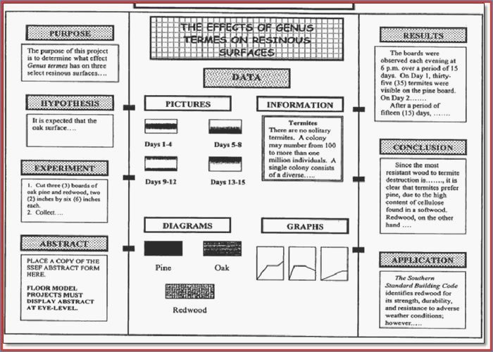 Science Fair Project Template Unique Science Fair Project Template – Harddancefo