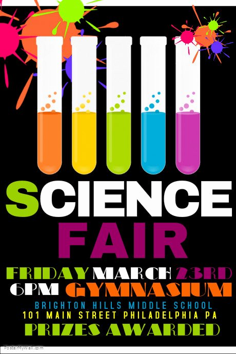 Science Fair Project Template Unique Science Fair Template