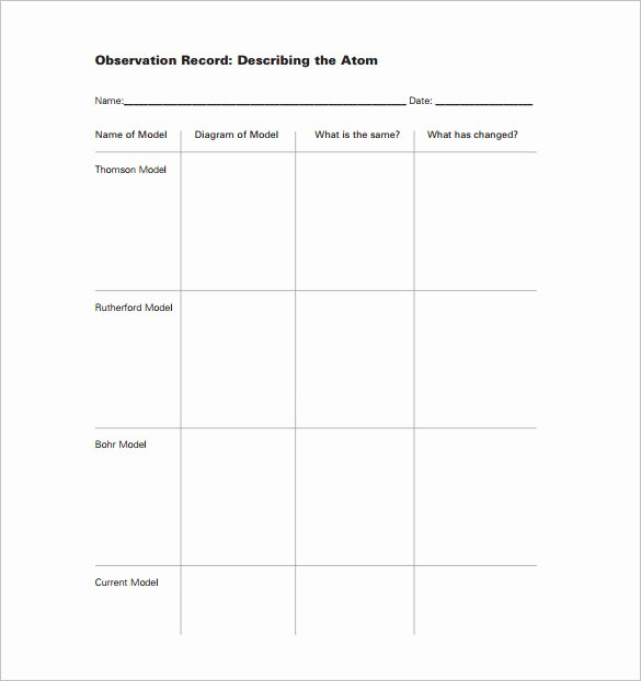 Science Lesson Plan Template Unique Elementary Lesson Plan Template 11 Pdf Word format