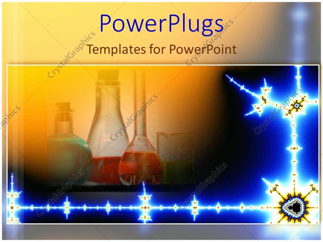 Science Power Point Template Awesome Powerpoint Template Chemistry Lab Science Mad Scientist