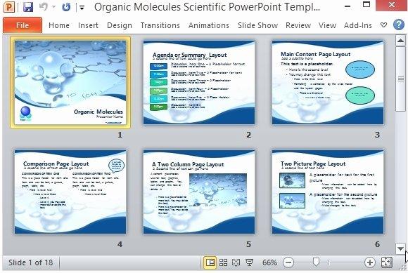 Science Power Point Template Elegant Scientific Presentation Template