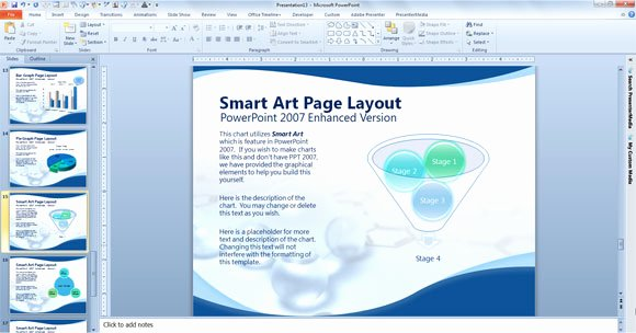Science Power Point Template Fresh Free Scientific Powerpoint Template