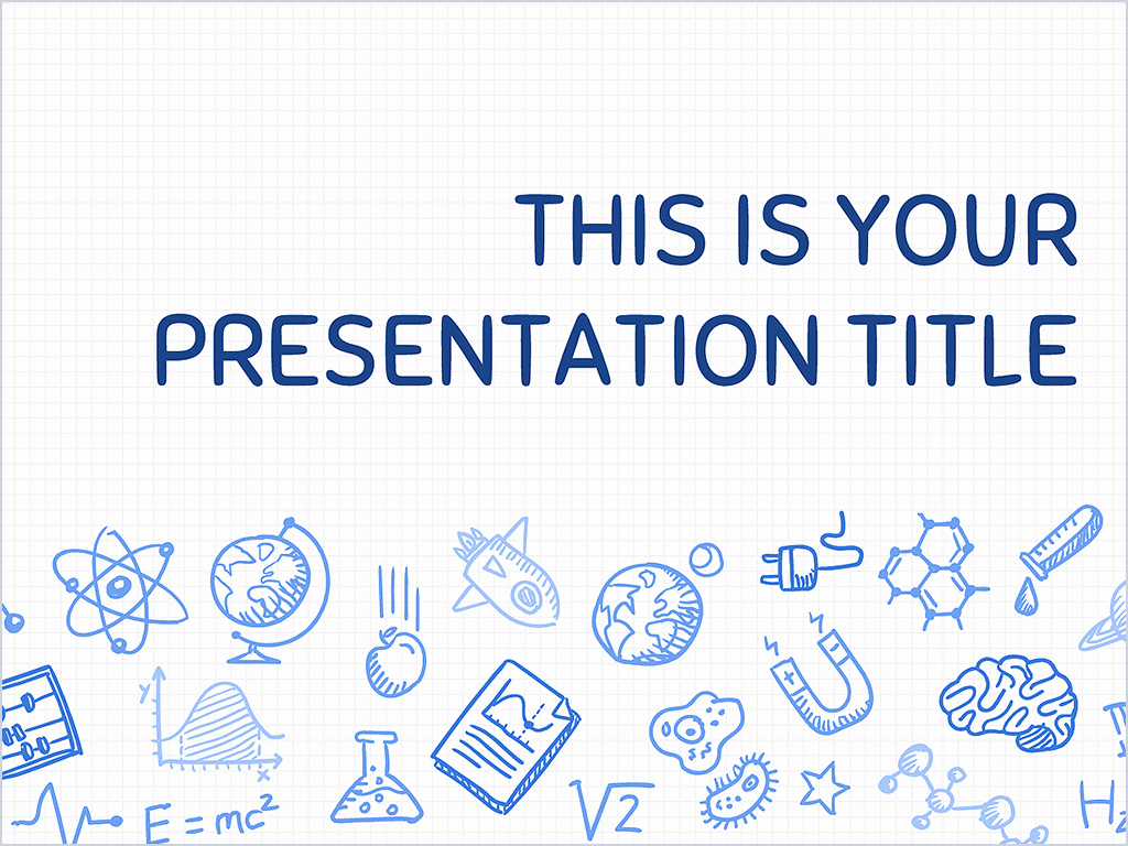 Science Power Point Template Inspirational Free Playful Powerpoint Template or Google Slides theme