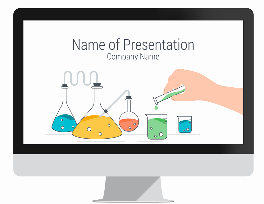Science Power Point Template New Science Powerpoint Template Presentationdeck