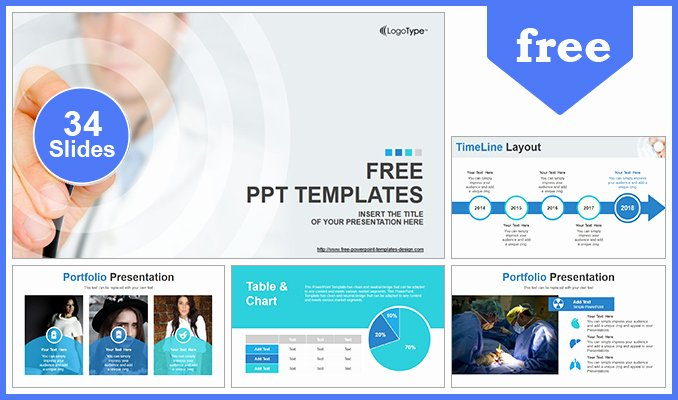 Science Power Point Template Unique Scientific Researcher Medical Powerpoint Template