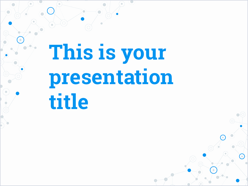 Scientific Presentation Powerpoint Template Elegant Free Powerpoint Template or Google Slides theme with