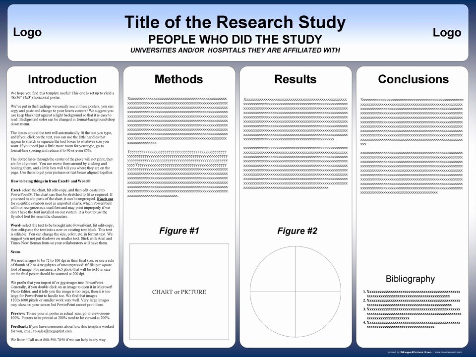 Scientific Presentation Powerpoint Template Inspirational Free Powerpoint Scientific Research Poster Templates for