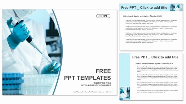 Scientific Presentation Powerpoint Template Unique Scientific Researcher In Medical Powerpoint Templates