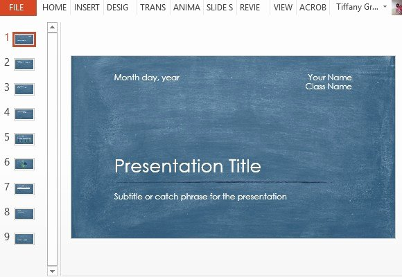 Scientific Presentation Powerpoint Template Unique Student Scientific Report Powerpoint Template
