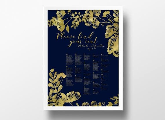 Seating Chart Poster Template Beautiful 12 Best Diy Wedding Seating Chart Poster Templates Images