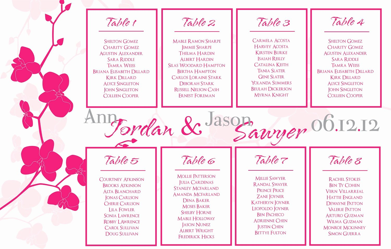 """Seating Chart Template Excel Beautiful Search Results for """"free Seating Chart Template Wedding"""