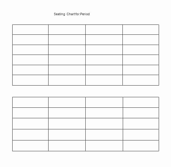 Seating Chart Template Excel Lovely Conference Table Seating Chart